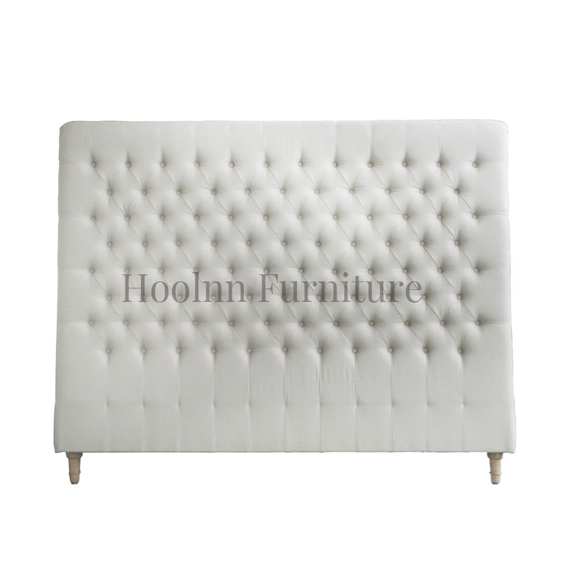 Wooden Headboard French-style Antique  Upholstered Luxury Design HL007