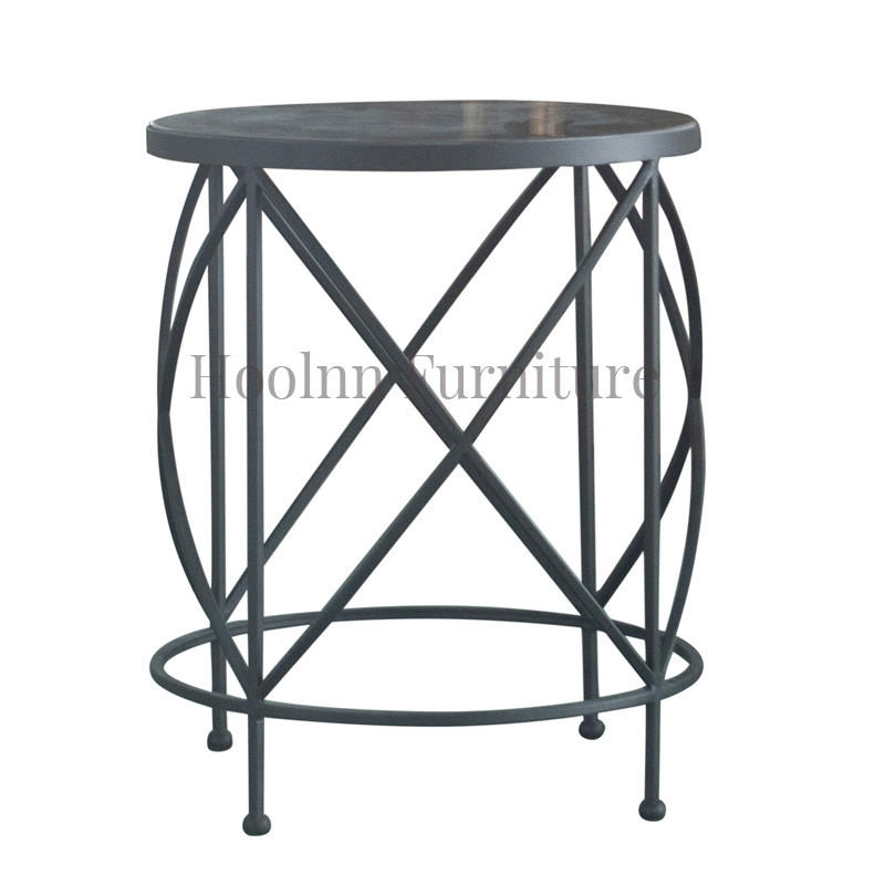 French-style Stainless Steel frame unique Coffee Tables for Living Room SG512