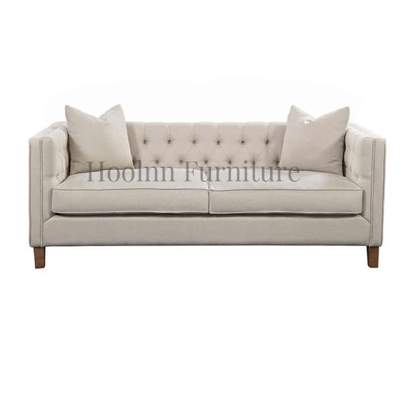 Fabric Chesterfield Sofa upholstered sofa  for Living Room HL210-3