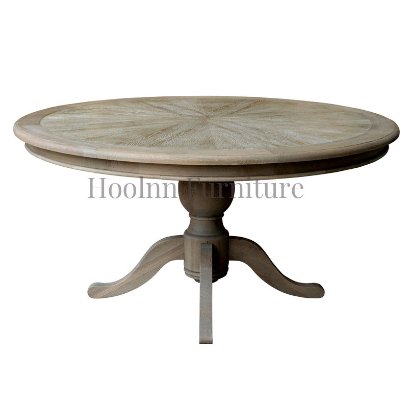 Round Dining Room Tables French  style luxury Type D128-150