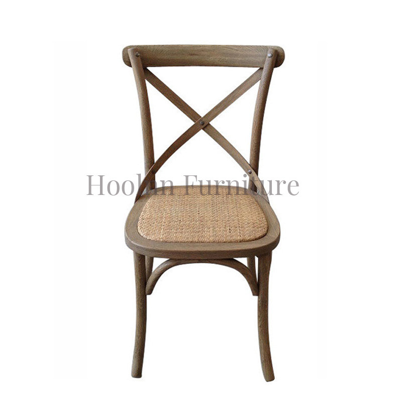 Wooden Dining Room Chairs French-style cross back Design ED-024