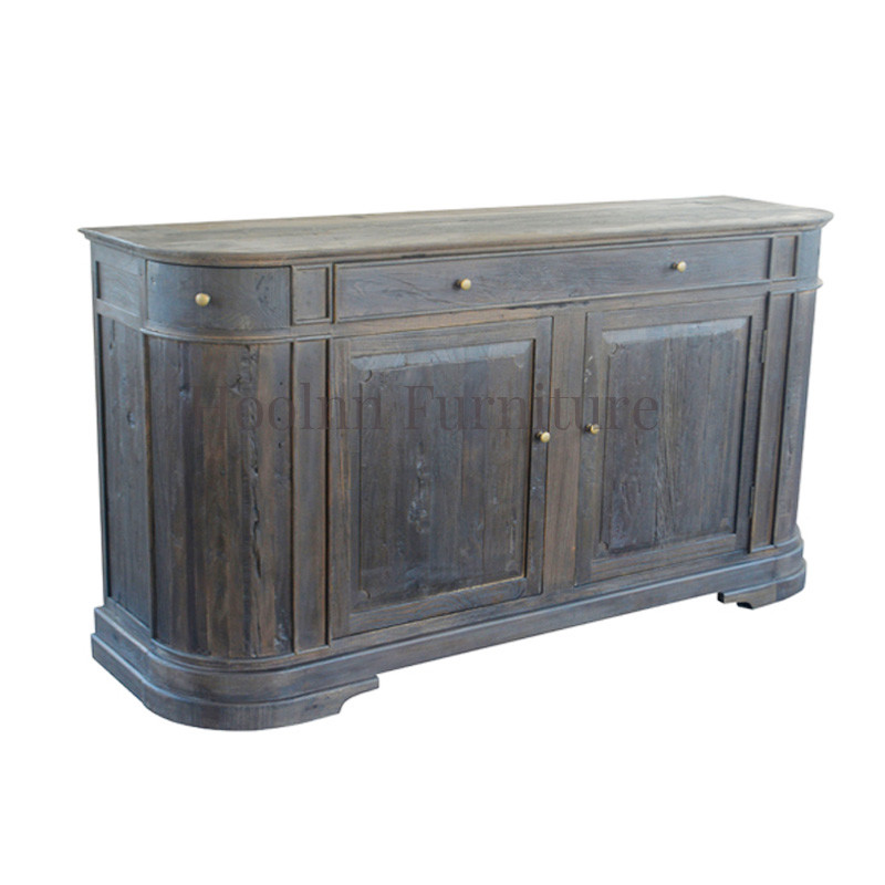 oak wood base luxury kitchen pantry cabinets for dinning room