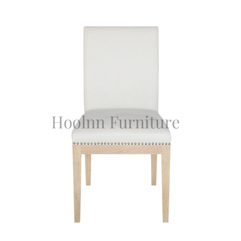 Fabric Dining Chair Wooden French Luxury Formal Type P0063
