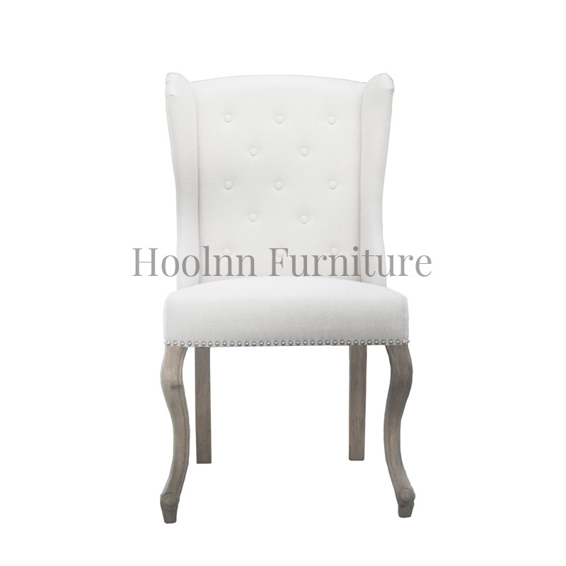 French Upholstered Leather Dining Chair for Dinning room S1092