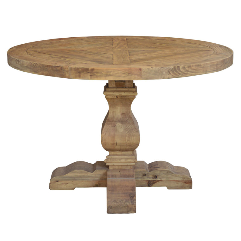 Country Antique Wooden Dining Table D1635-120