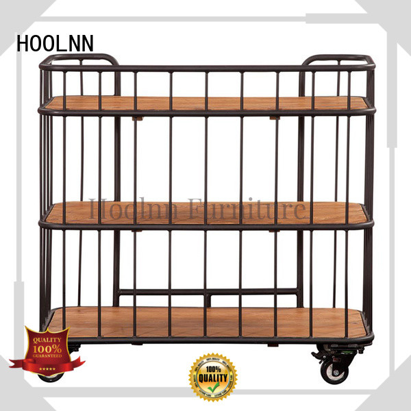 HOOLNN serving cart on wheels sale with discount for business