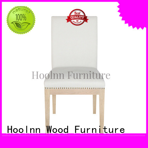 HOOLNN french dining chairs factory in China for wooden furniture industry
