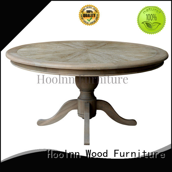 old-fashion round dining room tables factory in China for wooden furniture industry