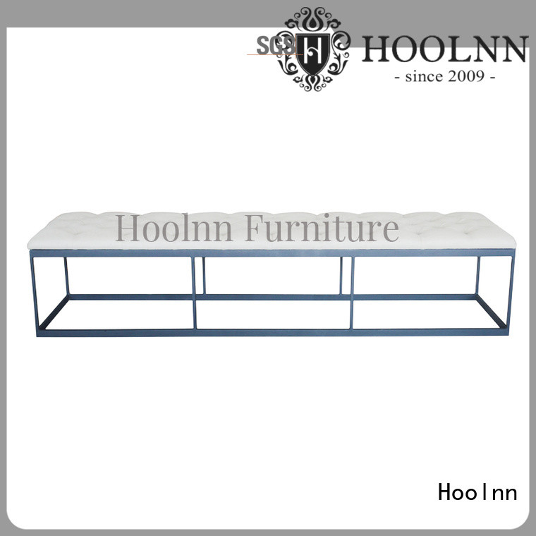 HOOLNN bed foot bench manufacturer for trade sale