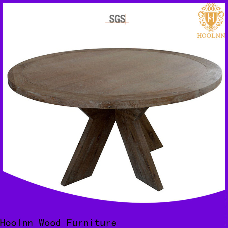 HOOLNN Top solid wood dining room furniture factory for dining room