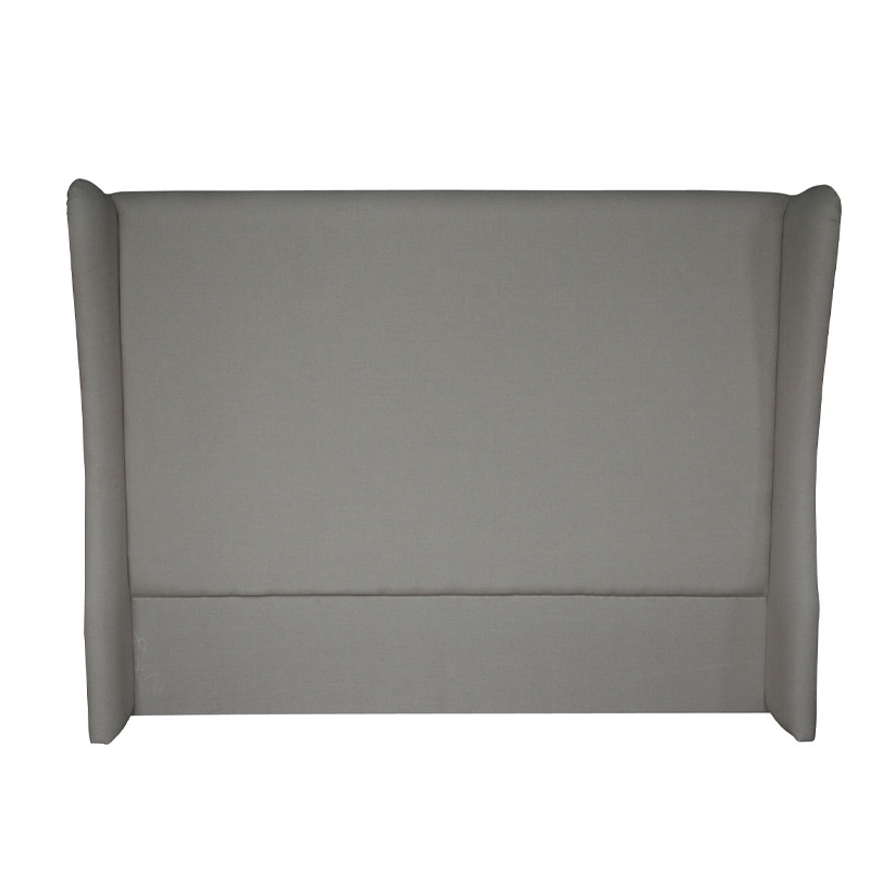 Natural Linen Weathered Oak Headboard