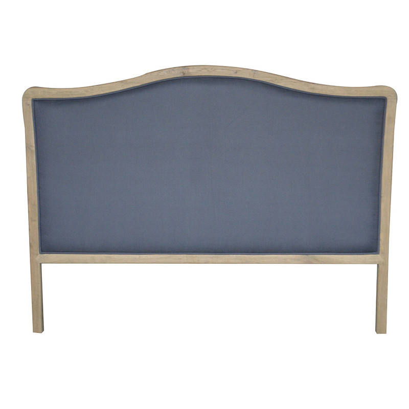 French-style Antique Wooden Upholstered Luxurious Headboard HL114K