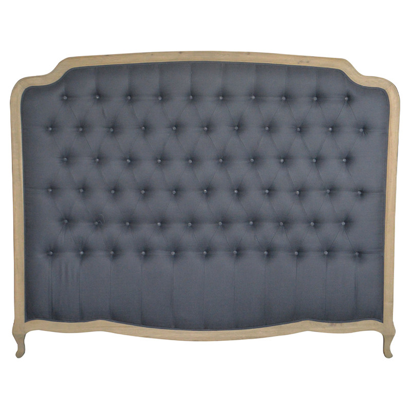 French-style Antique Hotel Bedroom Furniture Wooden Luxurious Headboards King Size 1 Bed HL159HBK