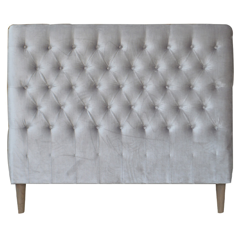 French Style Buttoned Headboard