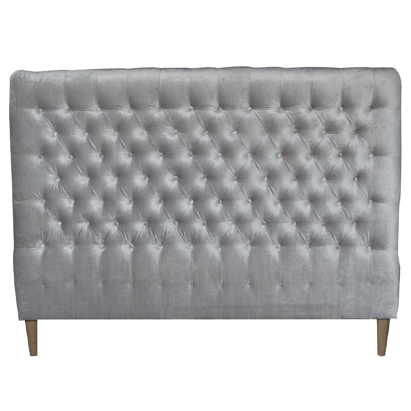 French High-end Buttoned Headboard
