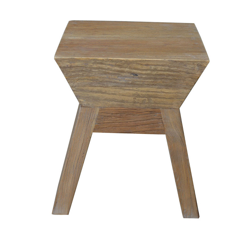 French style Antique Wooden Side Table HL086