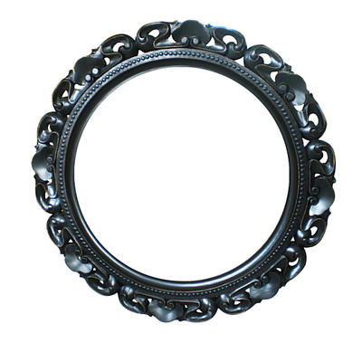 French Stylish oak mirror HL033