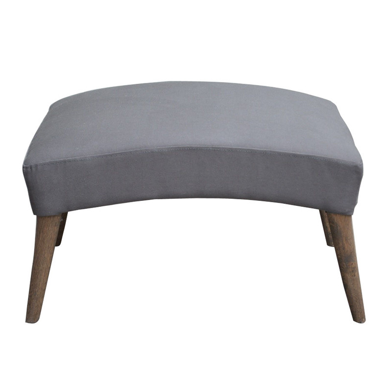 French Sofa Wooden  Ottoman SG202