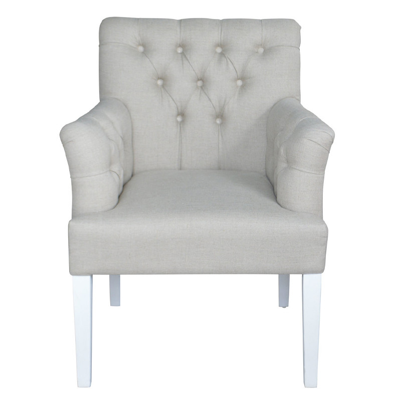 French Furniture solid wood Armchair S1066