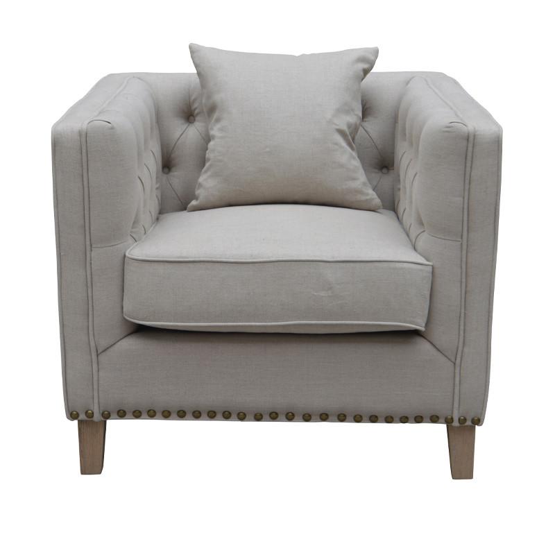 Wooden Luxury European Style Restaurant Chair Sofa HL210-85