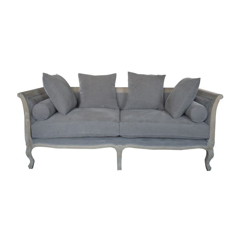 Home French Country Antique Style Sofa Furniture HL328