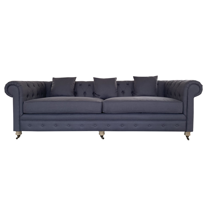 Vintage Italian Style Couches-Living Room Furniture Living Room Sofa S1078