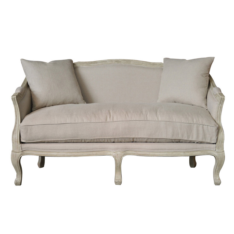 French Elegance Louis XV Three Seater sofa furniture HL329-2