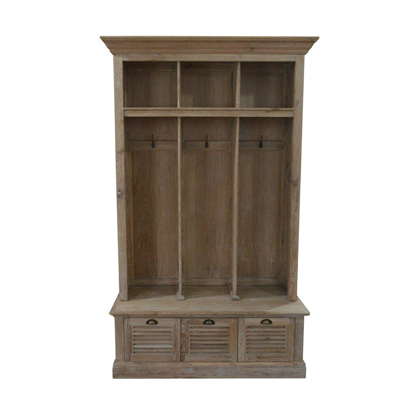 wooden Wardrobes oak living room furniture HL550