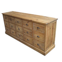 French Antique Wooden TV Stand HL905L