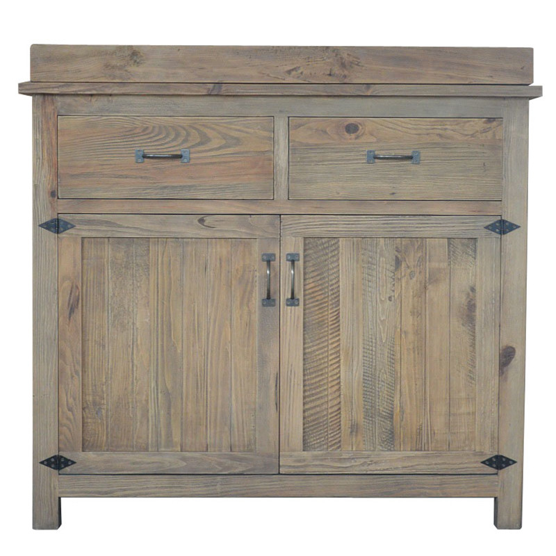 French vintage wooden sideboard HL386
