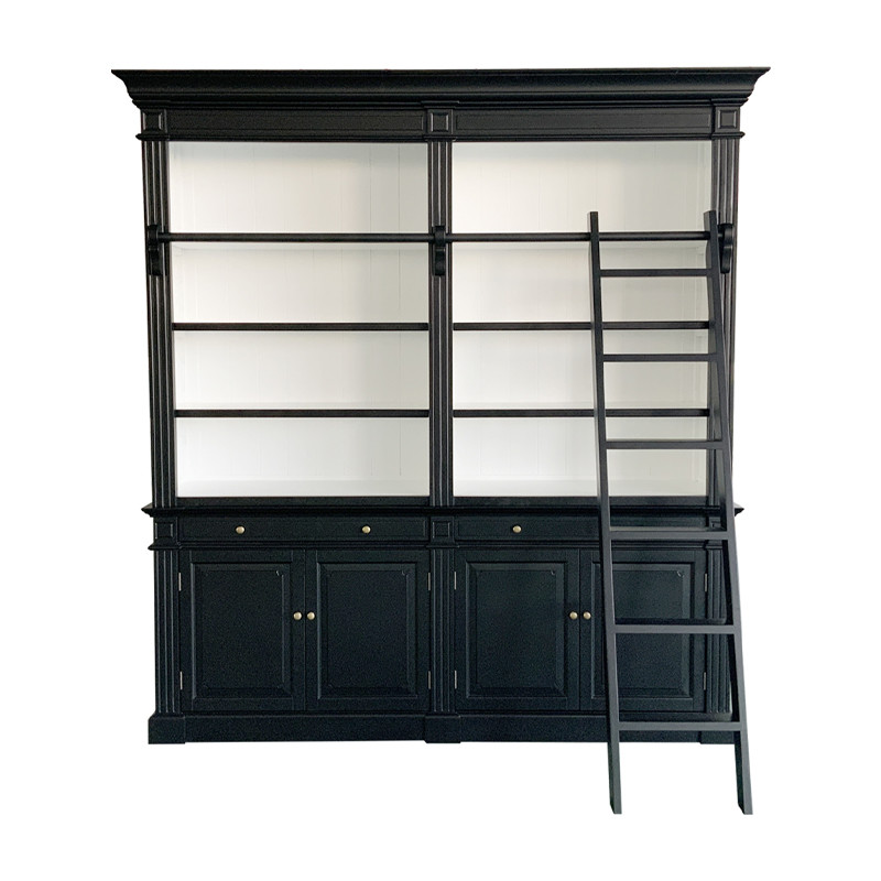 W5811S French Provincial Solid Wooden Bookcase