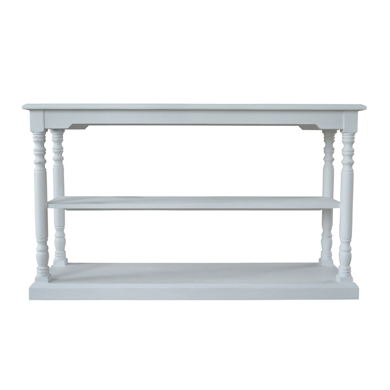 HL372 French Painted Console Table Bar Coffee Table