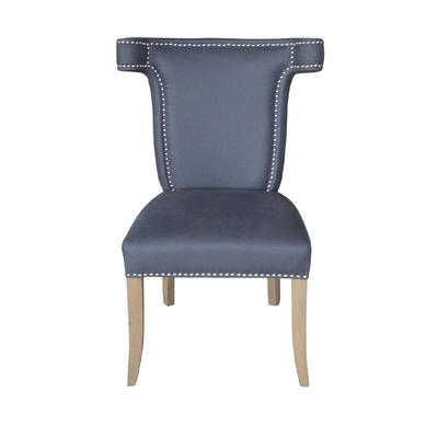 French Country Kitchen Dinning Chair With Leather Back P0081