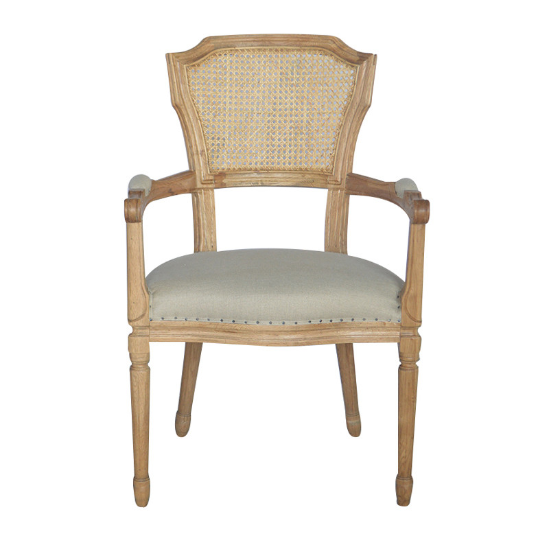 French Style Wood Dinning Chair P0038-2
