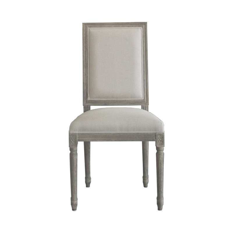 Oak Square Back Dining Chair P2199-1