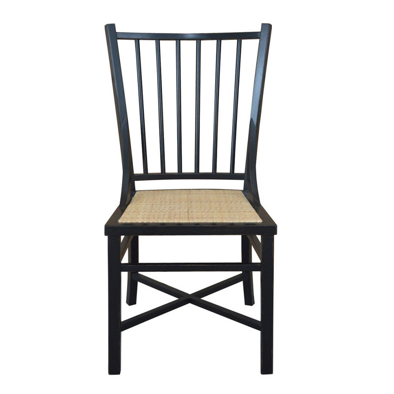 Gustavian Restro weathered Oak Dining Chair