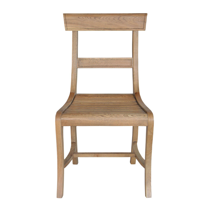 Oak wooden dining room chairs P0017