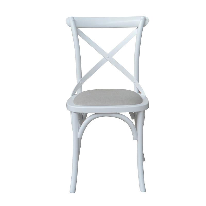 Classic French stylish Cross Back Bar Chair ED-023