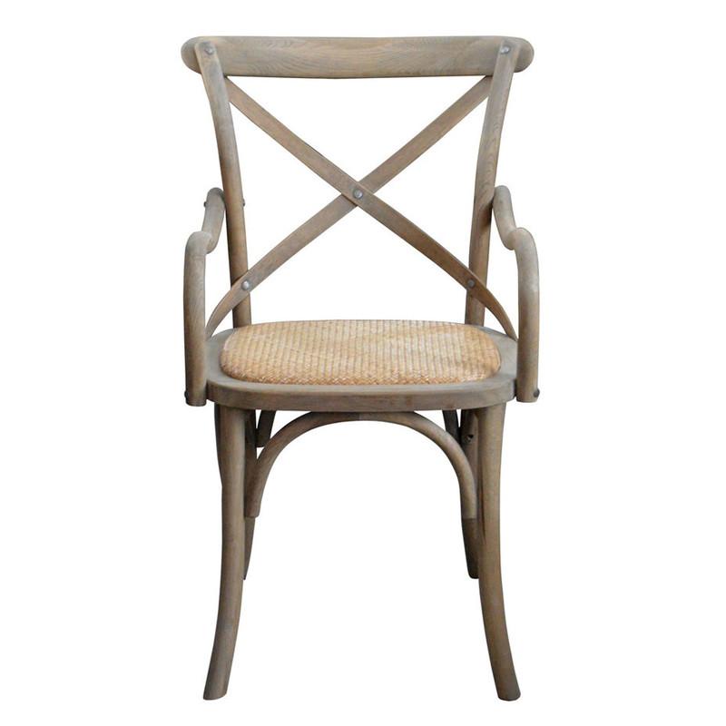 Cross back dining chair ED-022