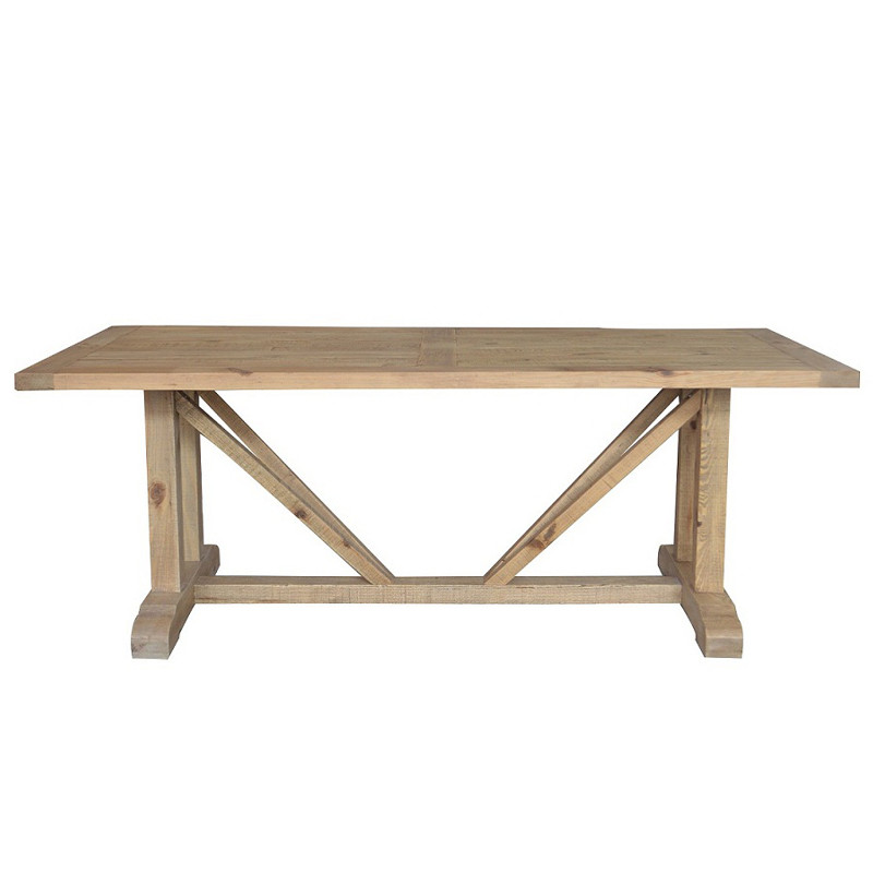 recycled French Country Kitchen Dining Table D1580-210