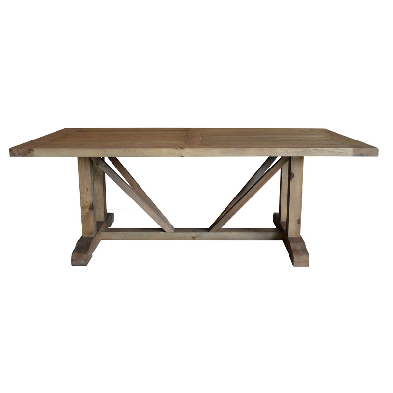 recycled pine furniture dining table D1580-240