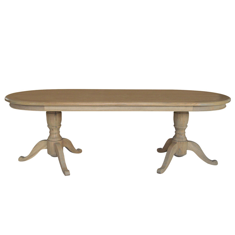 French Antique Wooden Dining Table D1647-240