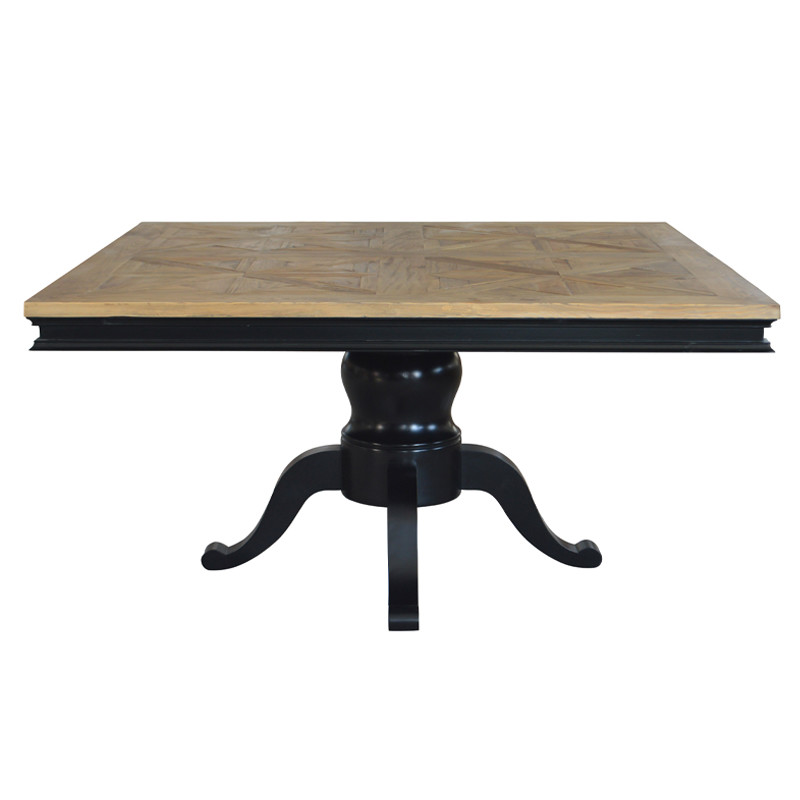 Large Square Solid Wood Dinning Table Durable HL520-150