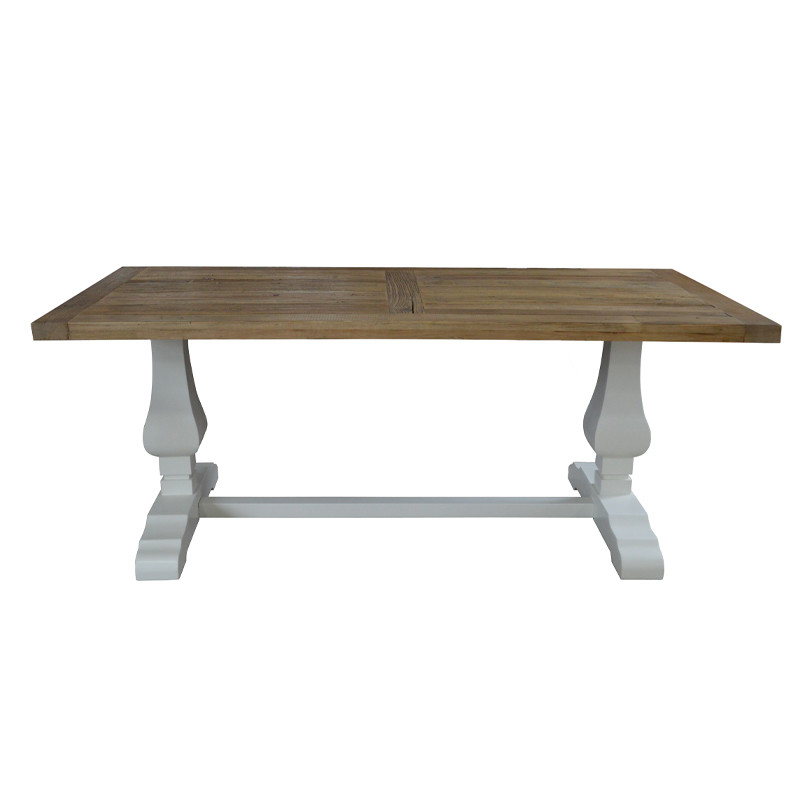 Recycled Pine Country Stylish Wooden Table SG700