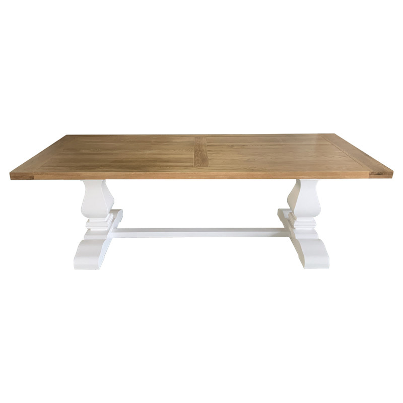 solid oak Dinning Table French style furniture D1634-200