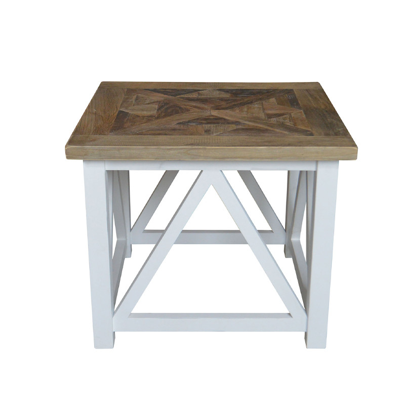 French-style Vintage Wooden Side Table SG431
