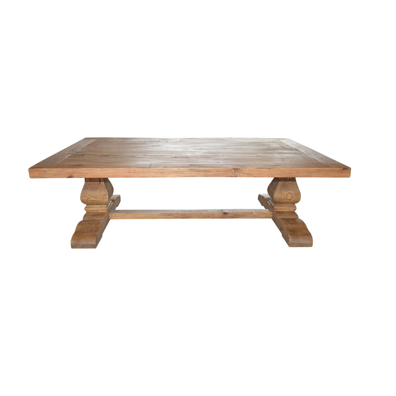 HL289 Hotel Trunk Coffee Table White