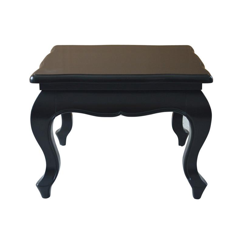 Antique Black Wooden Side Table HL310-60