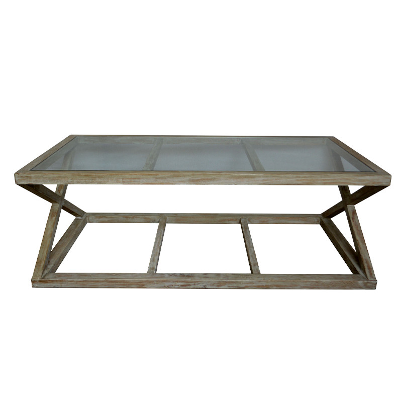 X Legs Coffee Table for Living Room HL359