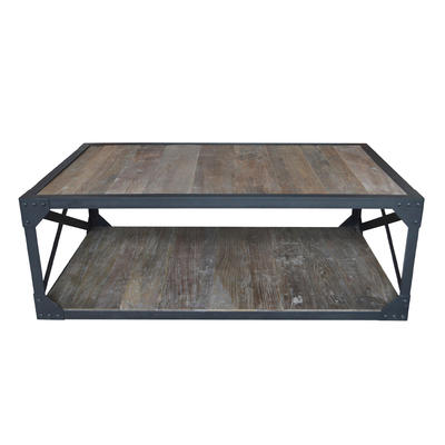 French Vintage Industrial Coffee Table HL408